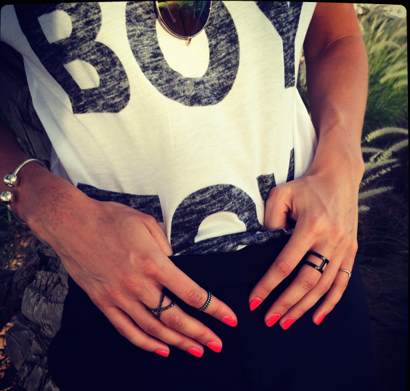 Outfit - Boy Toy jewellery details