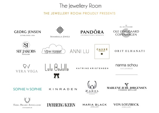 The Jewellery Room - labels